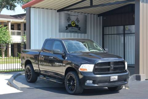 2012 RAM Ram Pickup 1500 for sale at G MOTORS in Houston TX