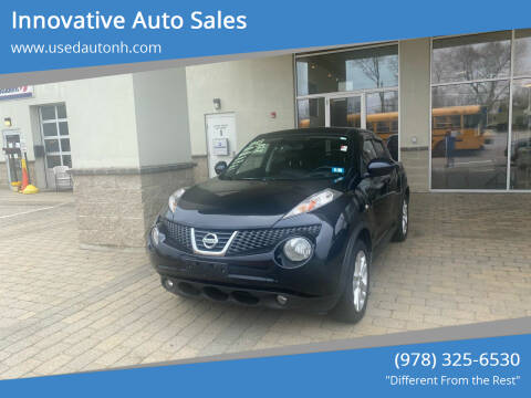 2011 Nissan JUKE for sale at Innovative Auto Sales in North Hampton NH