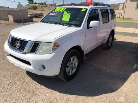2008 Nissan Pathfinder for sale at Hilltop Motors in Globe AZ
