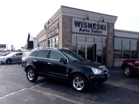 2012 Chevrolet Captiva Sport for sale at Wisneski Auto Sales, Inc. in Green Bay WI
