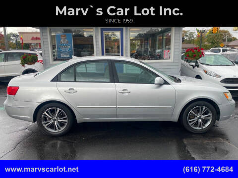 2009 Hyundai Sonata for sale at Marv`s Car Lot Inc. in Zeeland MI