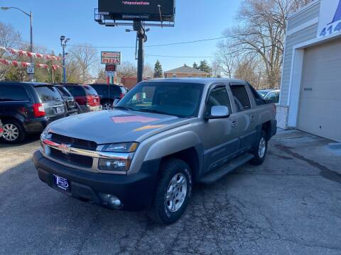 2003 Chevrolet Avalanche for sale at 1st Quality Auto in Milwaukee WI