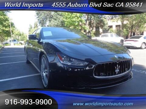 2014 Maserati Ghibli for sale at World Imports in Sacramento CA