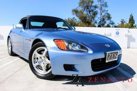 2002 Honda S2000 for sale at Zen Auto Sales in Sacramento CA