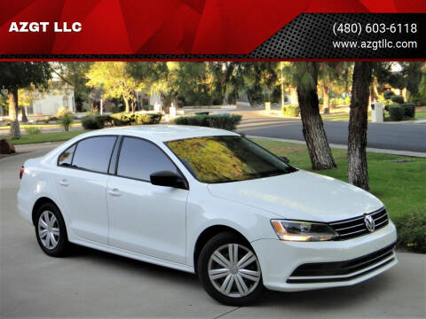 2015 Volkswagen Jetta for sale at AZGT LLC in Phoenix AZ