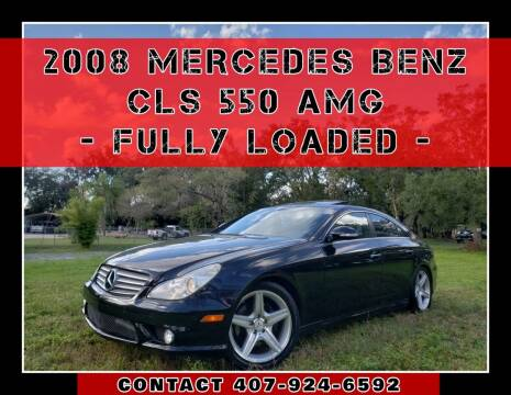 2008 Mercedes-Benz CLS for sale at AFFORDABLE ONE LLC in Orlando FL