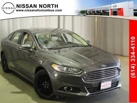 2016 Ford Fusion for sale at Auto Center of Columbus in Columbus OH