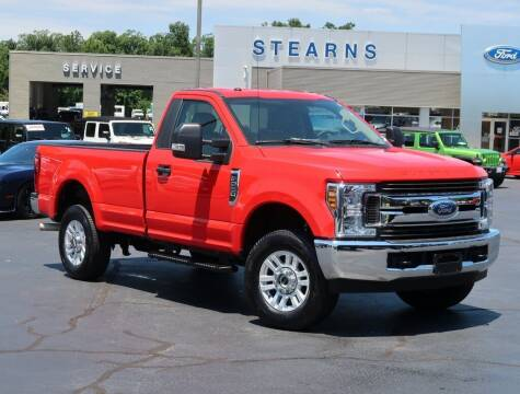2019 Ford F-250 Super Duty for sale at Stearns Ford in Burlington NC