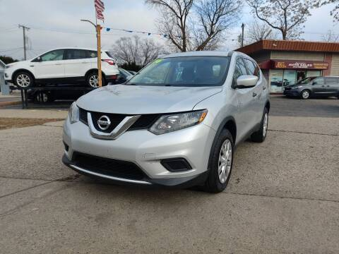2016 Nissan Rogue for sale at Lamarina Auto Sales in Dearborn Heights MI