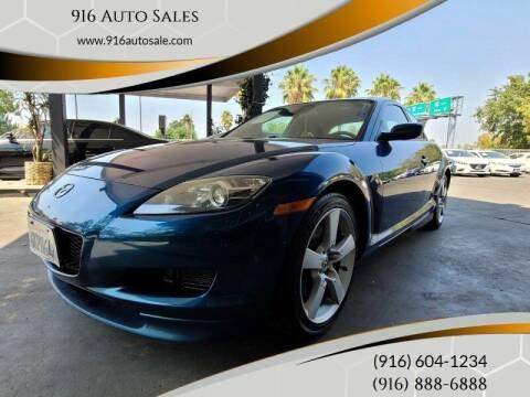 2007 Mazda RX-8 for sale at 916 Auto Sales in Sacramento CA