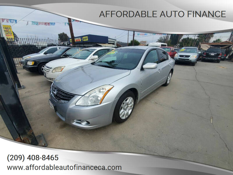 2011 Nissan Altima for sale at Affordable Auto Finance in Modesto CA