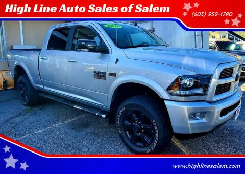 2016 RAM Ram Pickup 2500 for sale at High Line Auto Sales of Salem in Salem NH