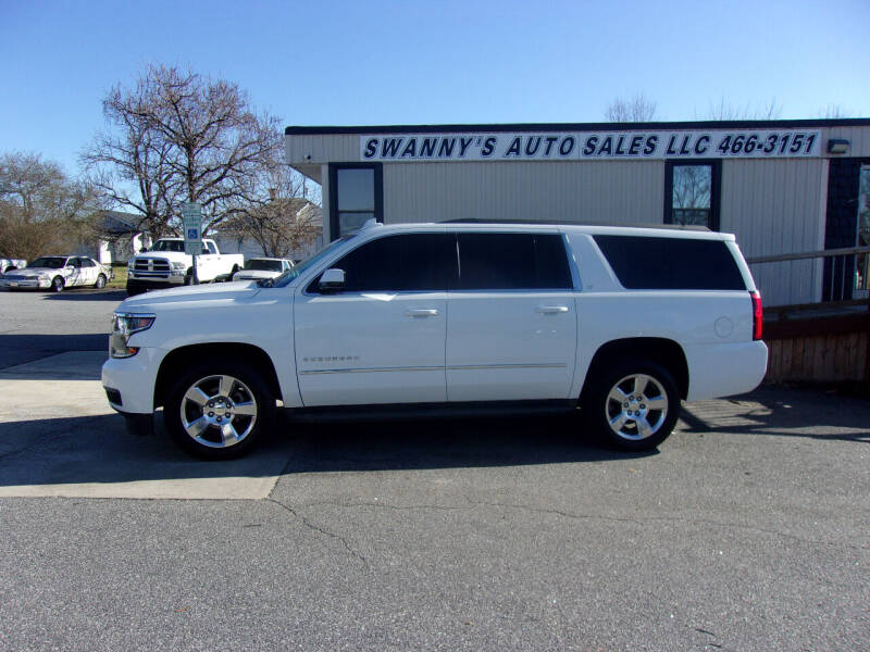 2015 Chevrolet Suburban for sale at Swanny's Auto Sales in Newton NC