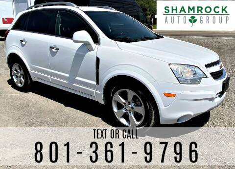 2014 Chevrolet Captiva Sport for sale at Shamrock Group LLC #1 in Pleasant Grove UT