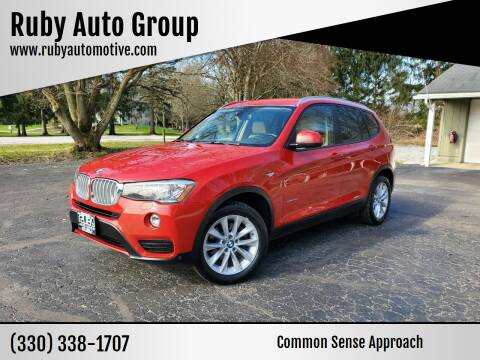2015 BMW X3 for sale at Ruby Auto Group in Hudson OH