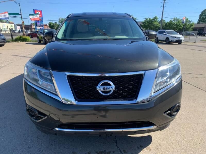 2015 Nissan Pathfinder for sale at Minuteman Auto Sales in Saint Paul MN