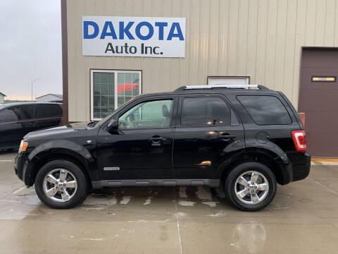 2008 Ford Escape for sale at Dakota Auto Inc. in Dakota City NE