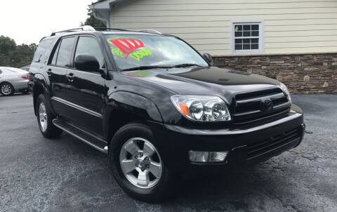 2003 Toyota 4Runner for sale at No Full Coverage Auto Sales in Austell GA