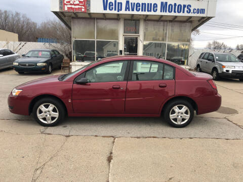 2007 Saturn Ion for sale at Velp Avenue Motors LLC in Green Bay WI