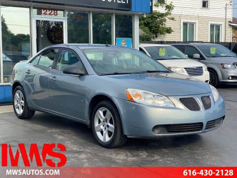 2008 Pontiac G6 for sale at MWS Wholesale  Auto Outlet in Grand Rapids MI