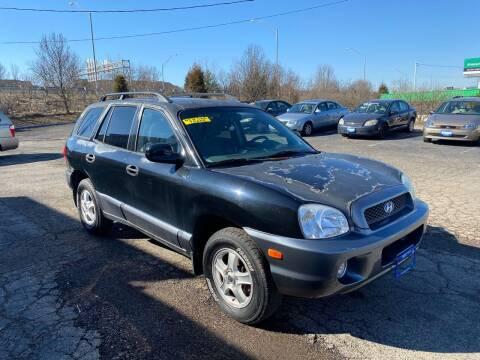 2003 Hyundai Santa Fe for sale at Duke Automotive Group in Cincinnati OH