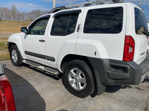 2010 Nissan Xterra for sale at K & P Used Cars, Inc. in Philadelphia TN