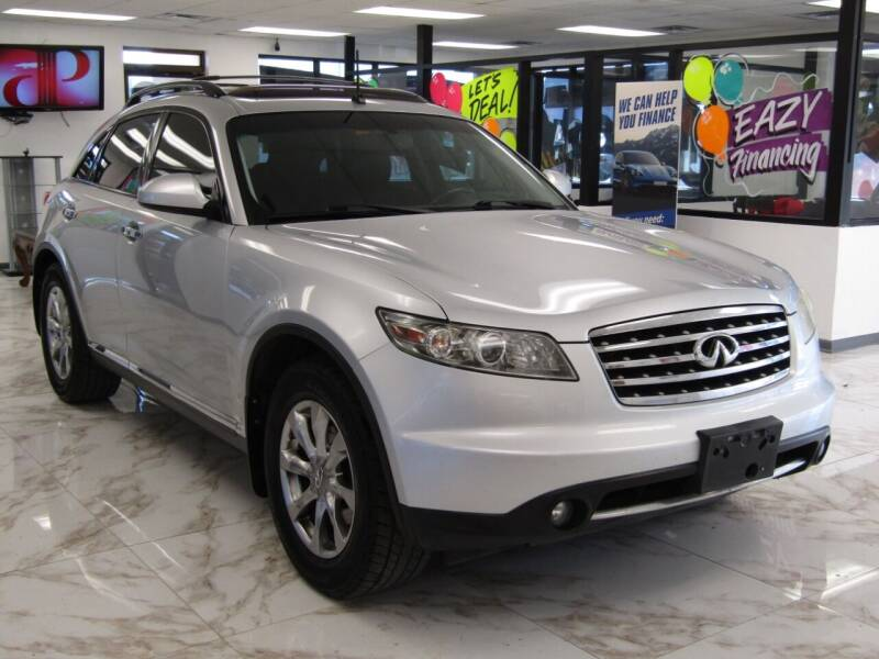 2008 Infiniti FX35 for sale at Dealer One Auto Credit in Oklahoma City OK