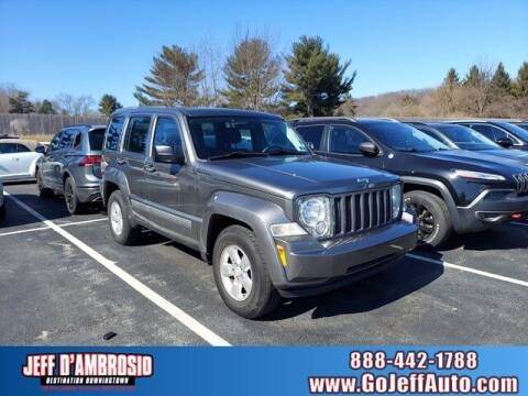 2012 Jeep Liberty for sale at Jeff D'Ambrosio Auto Group in Downingtown PA