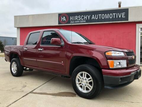 2009 Chevrolet Colorado for sale at Hirschy Automotive in Fort Wayne IN