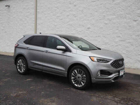 2021 Ford Edge for sale at Greenway Automotive GMC in Morris IL