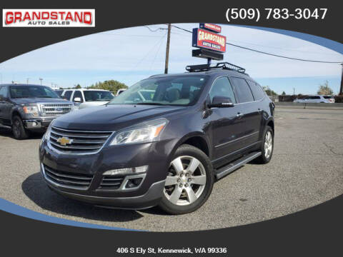 2015 Chevrolet Traverse for sale at Grandstand Auto Sales in Kennewick WA