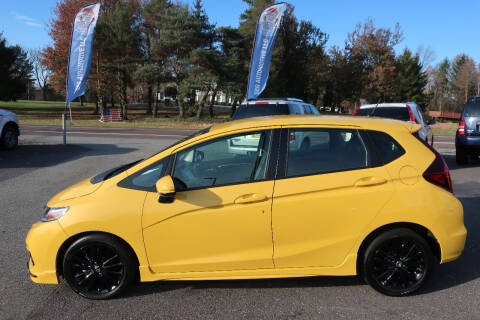 2018 Honda Fit for sale at GEG Automotive in Gilbertsville PA