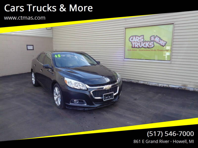 2015 Chevrolet Malibu for sale at Cars Trucks & More in Howell MI