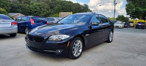 2013 BMW 5 Series for sale at DADA AUTO INC in Monroe NC