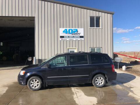 2010 Chrysler Town and Country for sale at 402 Autos in Lindsay NE