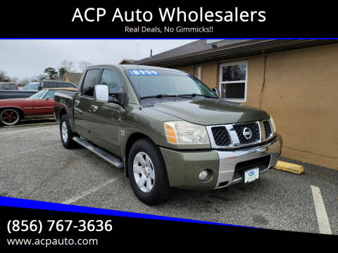 2004 Nissan Titan for sale at ACP Auto Wholesalers in Berlin NJ