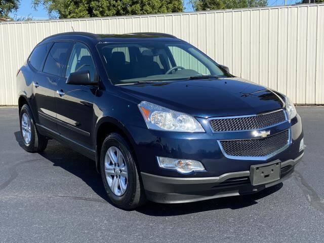 2012 Chevrolet Traverse for sale at Miller Auto Sales in Saint Louis MI