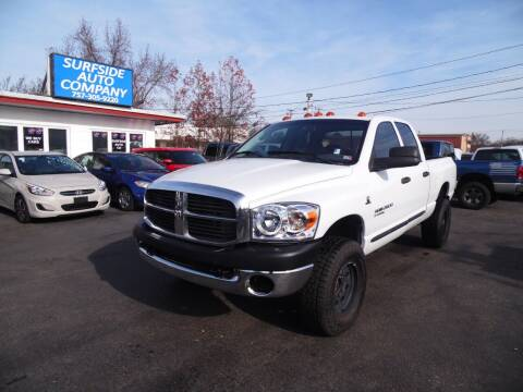 2006 Dodge Ram Pickup 2500 for sale at Surfside Auto Company in Norfolk VA