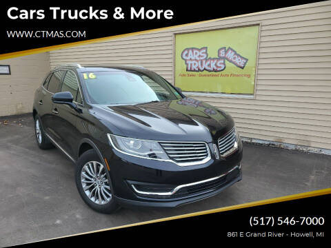 2016 Lincoln MKX for sale at Cars Trucks & More in Howell MI