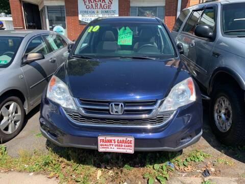 2010 Honda CR-V for sale at Frank's Garage in Linden NJ