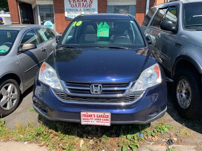 2010 Honda CR-V for sale at Frank's Garage in Linden NJ