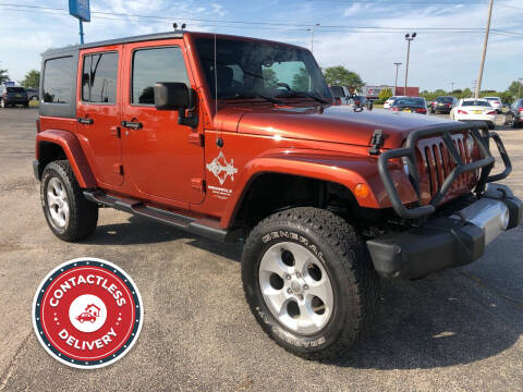 2014 Jeep Wrangler Unlimited for sale at Mega Motorworks in Appleton WI