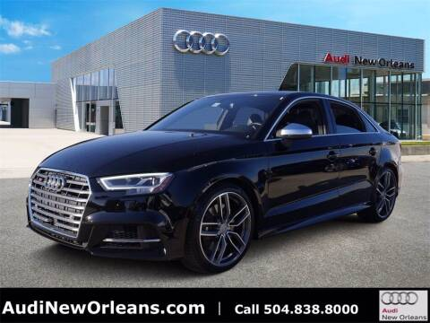 2017 Audi S3 for sale at Metairie Preowned Superstore in Metairie LA
