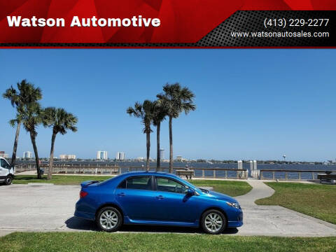 2010 Toyota Corolla for sale at Watson Automotive in Sheffield MA