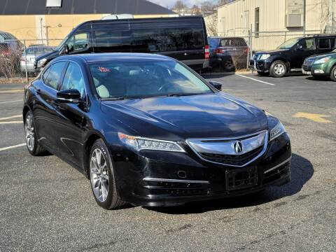 2016 Acura TLX for sale at AW Auto & Truck Wholesalers  Inc. in Hasbrouck Heights NJ