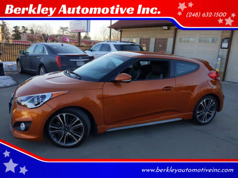 2016 Hyundai Veloster for sale at Berkley Automotive Inc. in Berkley MI