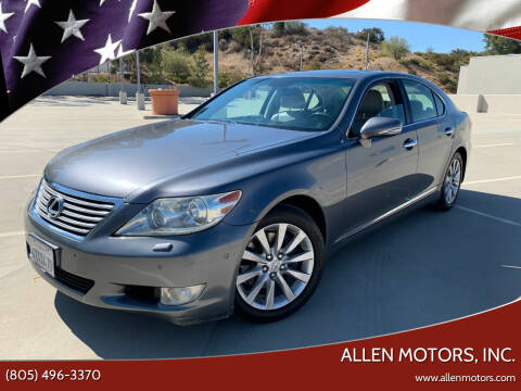 2012 Lexus LS 460 for sale at Allen Motors, Inc. in Thousand Oaks CA