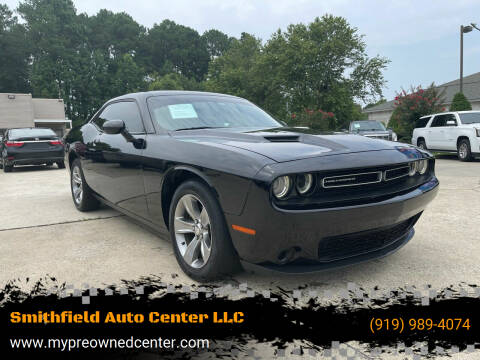 2015 Dodge Challenger for sale at Smithfield Auto Center LLC in Smithfield NC