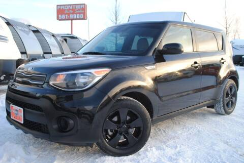 2019 Kia Soul for sale at Frontier Auto & RV Sales in Anchorage AK