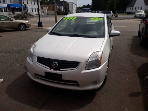 2012 Nissan Sentra for sale at TC Auto Repair and Sales Inc in Abington MA